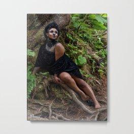 Gothess Fairy Metal Print