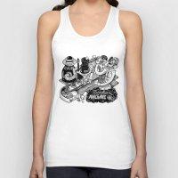 cookies Tank Tops featuring Cookies Machine by MrCapdevila / Bingo