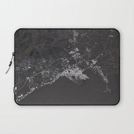 Ibiza City Map  Laptop Sleeve