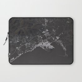 Ibiza City Map  Laptop Sleeve