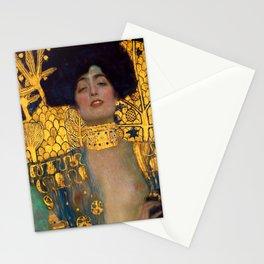 """Gustav Klimt """"Judith I"""" Stationery Cards"""