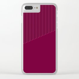 4 The combined pattern of Alize Clear iPhone Case