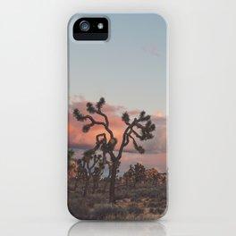 Joshua Tree Sunset No.2 iPhone Case