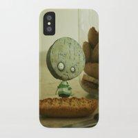 tim burton iPhone & iPod Cases featuring Brie Boy - Tim Burton by PaperTigress