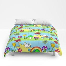 Groovy Skies Comforters