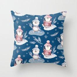 Winter Wonderland 21 Throw Pillow