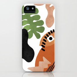 Tropical Abstract iPhone Case