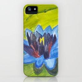 Blue Lotus iPhone Case