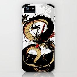 Black Dragon iPhone Case