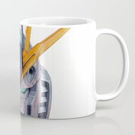 Nu Gundam Head Coffee Mug
