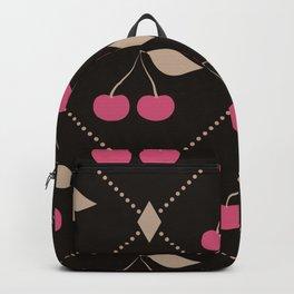 Red cherries . Backpack