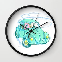 We're Doing Donuts!  Wall Clock
