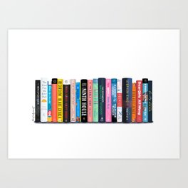 Best Books of the Year Art Print