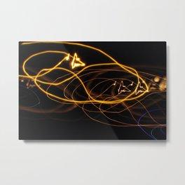 Electric Lines Metal Print