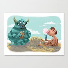 Death of the Imagination Canvas Print