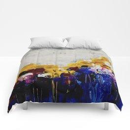 Always Flowers Comforters