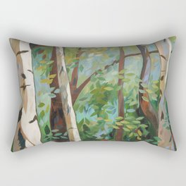 Discover Peace Rectangular Pillow