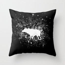 Banksy Dog Splash Paint Artwork Reproduction, Posters, Prints, Bags, Mugs, Postcards, Tshirts, Men, Throw Pillow