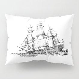 sailing ship . Home decor Graphicdesign Pillow Sham