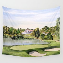 The Congressional Golf Course 10th Hole Wall Tapestry