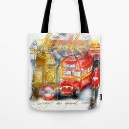 Take me to London Tote Bag