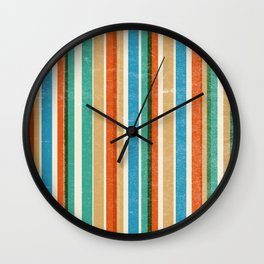 Bamboo Wall Clock