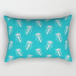 Jellyfish_Pattern Rectangular Pillow
