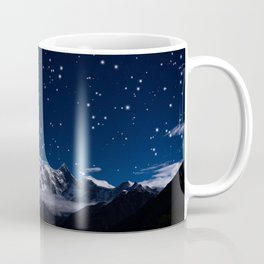 At the roof of the world Coffee Mug