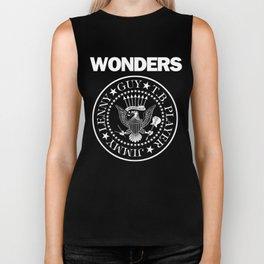 The Wonders x punk rock Biker Tank