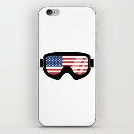 USA Goggles | Goggle Designs | DopeyArt iPhone Skin