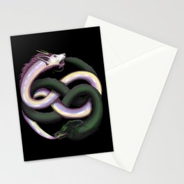 Wolf and Dragon Stationery Cards
