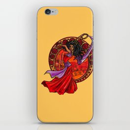 Esmeralda iPhone Skin