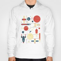 stickers Hoodies featuring Space Odyssey by Tracie Andrews