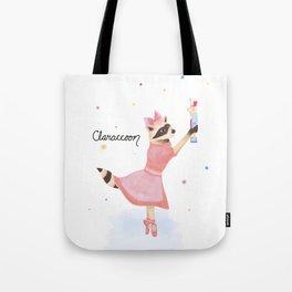 Claraccoon Tote Bag