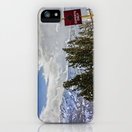 Windy Experts Only iPhone Case