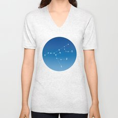 Ursa major constellation Unisex V-Neck