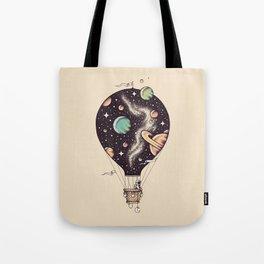 Interstellar Journey Tote Bag