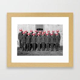 Mushroom Academy Framed Art Print