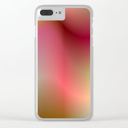 Colorful Clear iPhone Case