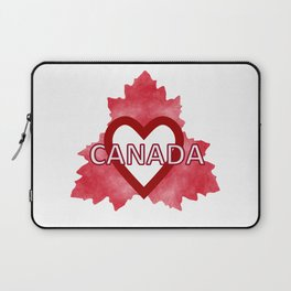 Home Sweet Canada Laptop Sleeve