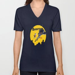 The Adventures of Bantam and Little Pecker Unisex V-Neck