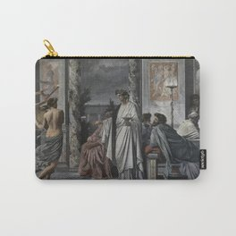 Plato's Symposium by Anselm Feuerbach Carry-All Pouch