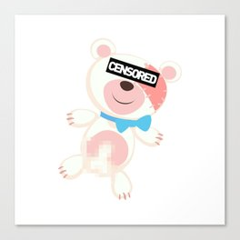 Naked Ted Canvas Print