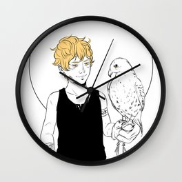 To Love is to Destroy Wall Clock