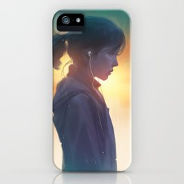 Not to be heard iPhone Case