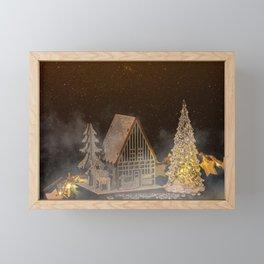 Concept Christmas : Christmas wishes Framed Mini Art Print