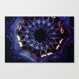 Looking Up Stalactite Dome, Alhambra Canvas Print