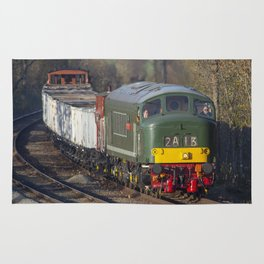 Class 45 Peak D123 train Rug