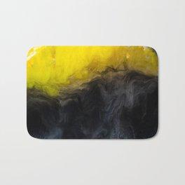 Vivid Mix Of Ink Clouds Bath Mat