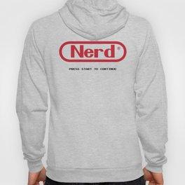 nintendo nerd Hoody